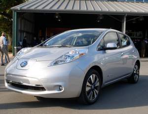 Nissan Leaf, EV, Carlos Ghosn