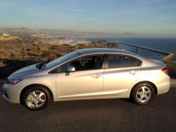 Honda,Civic,CNG,natural Gas,road Test,nat Gas,