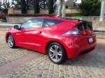 Honda,CR-Z,hybrid,mpg,fuel economy,performance