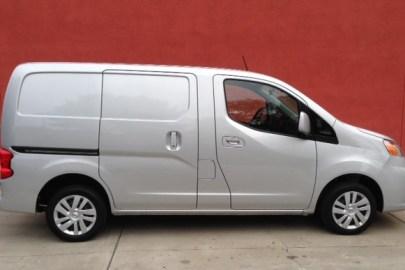 Nissan,NV200,cargo van,truck,mpg,fuel economy,electric truck