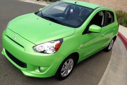 2014,Mitsubishi,Mirage,40 mpg,fuel economy