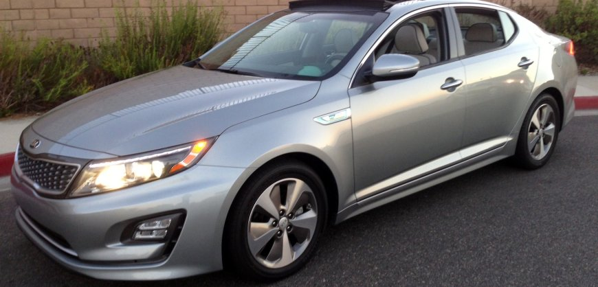 Road Test: 2014 Kia Optima Hybrid | Clean Fleet Report