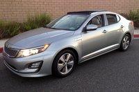 2014 Kia,Optima Hybrid,handling,mpg