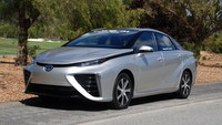 2016 Toyota,Mirai FCEV, hydrogen, electric car