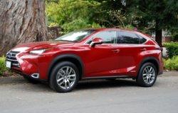 2015 Lexus,NX 300h,compact crossover,mpg