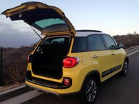 2015, Fiat 500L,Trekking, trunk,luggage