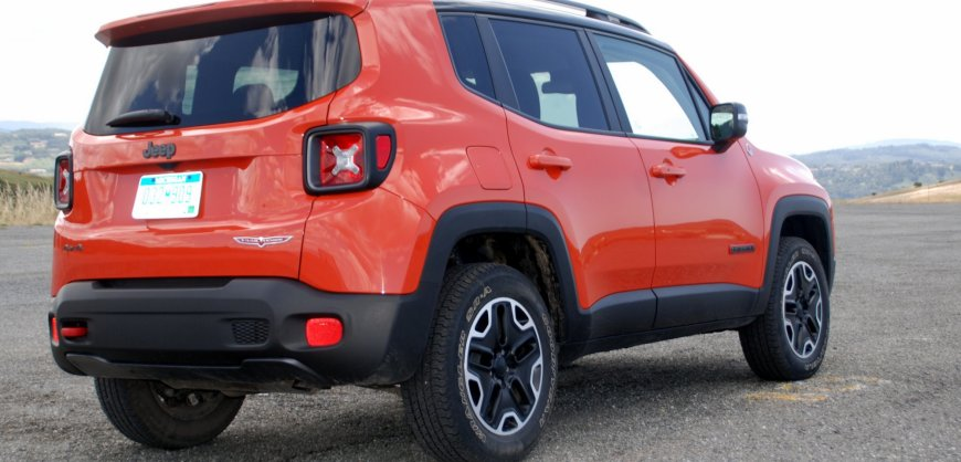 2015,Jeep Renegade,Trailhawk,fuel economy, 4WD,4x4
