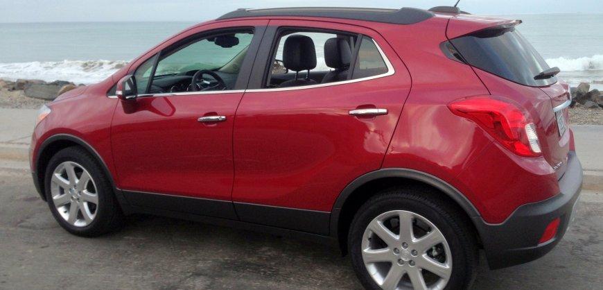 2015, Buick Encore,luxury CUV,mpg, fuel economy,