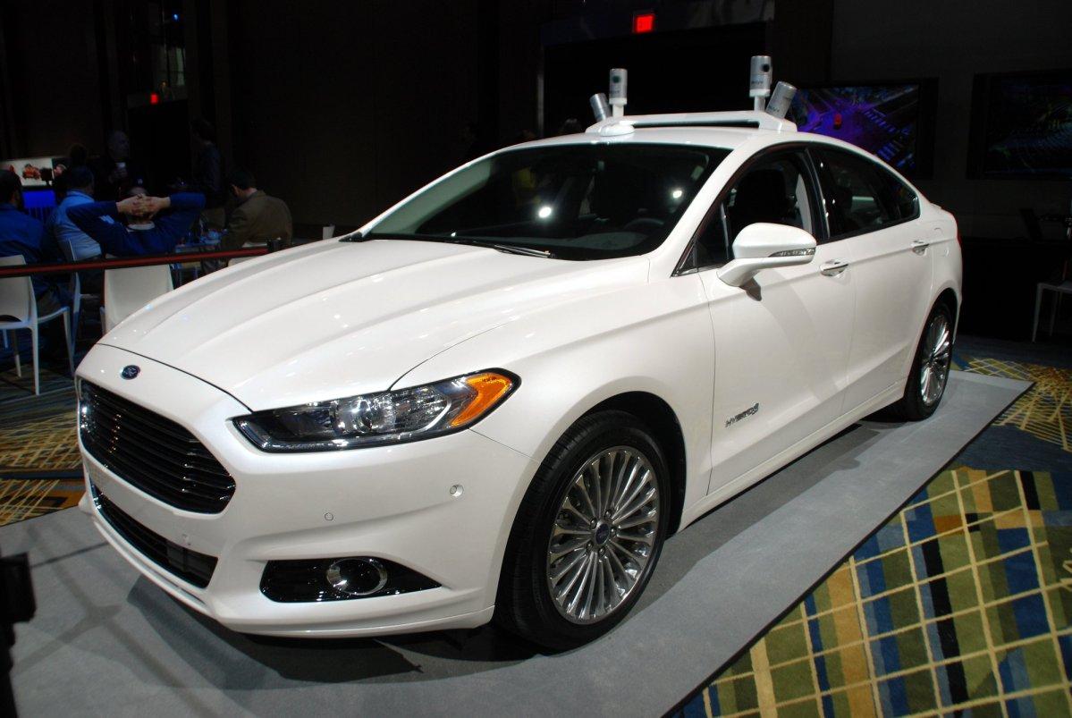 Ford Fusion, self-driving, autonomous car