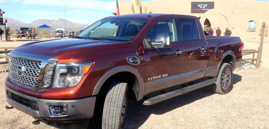 2016,Nissan,Titan,XD,diesel,clean diesel