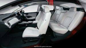 honda,clarity,fuel cell, interior
