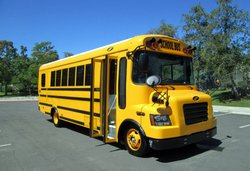 school bus,electric bus,Motiv Power Systems,California,zero emissions progam