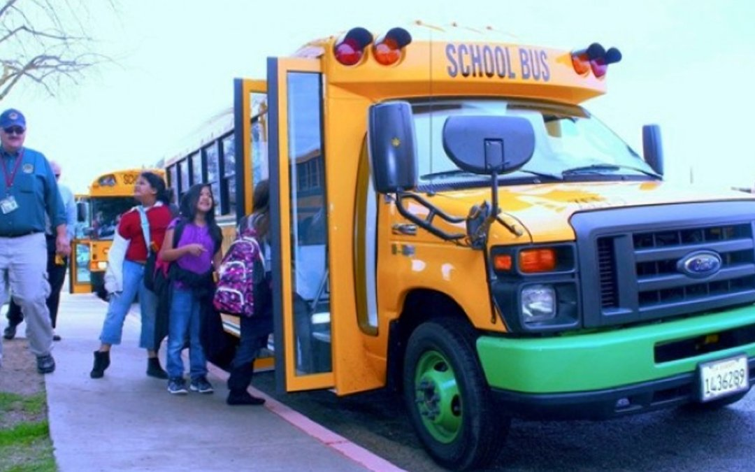 Tech: The Yellow School Bus Is Going All Electric