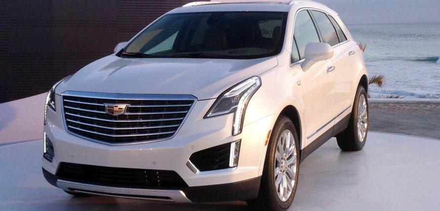 2017 Cadillac,XT5 AWD,SUV,crossover