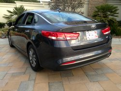 2016 Kia Optima LX,fuel economy,mpg