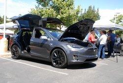 Electric Vehicle Day,Tesla,Model X,EV,