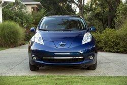 2016, Nissan Leaf, SL, EV, electric vehicle, aerodynaics