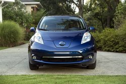 2016, Nissan Leaf, SL, EV, electric vehicle, aerodynaics