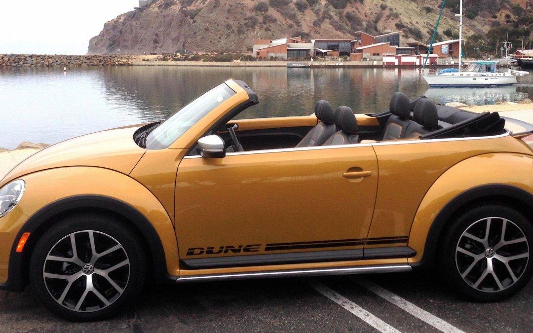 Road Test: 2017 Volkswagen Beetle Dune Convertible