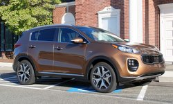 2017 Kia Sportage, mpg, fuel economy, road test