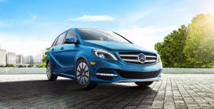 Top 10 electric cars clean fleet report for Mercedes benz b250e lease