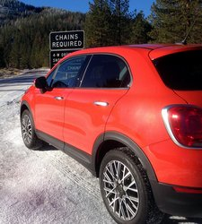 2016 Fiat 500X AWD,styling,design
