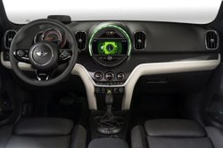 2017 Mini Countryman plug-in hybrid,interior