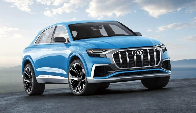News: Audi Joins the Coupe-Crossover Segment With Q8 Concept