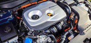 2017 Kia Optima Hybrid,engine