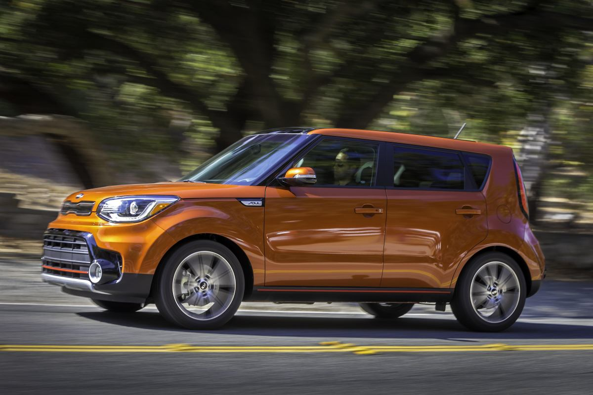 2017 Kia Soul Exclaim Turbo