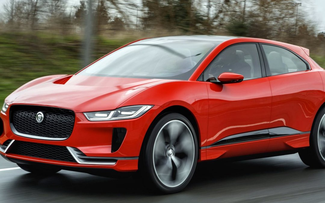 News: Jaguar I-Pace Electric Concept SUV Hits the Streets