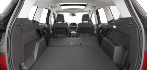 2017 Ford Escape, cargo area