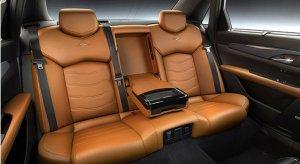 2017 Cadillac CT6 PHEV-Rear Seat Luxury