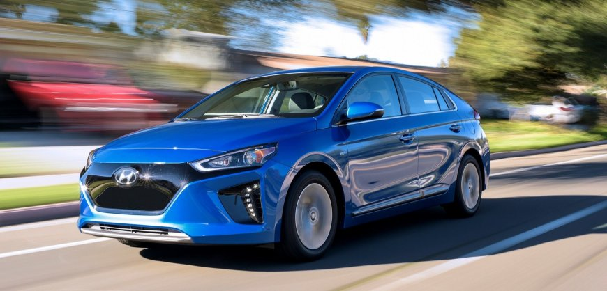 2017 Ioniq Electric Vehicle (