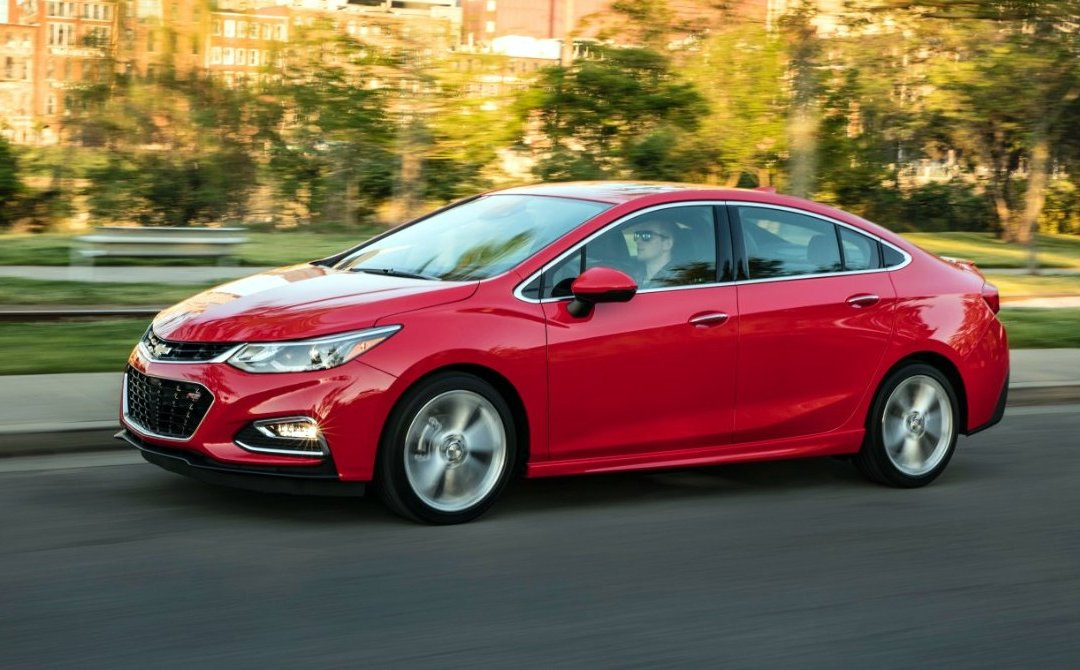 Road Test: 2017 Chevrolet Cruze Premier Sedan