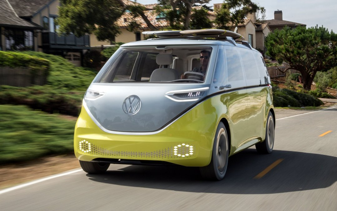 News: Volkswagen Microbus to Return as an Electric