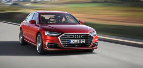 48-Volt 2019 Audi A8