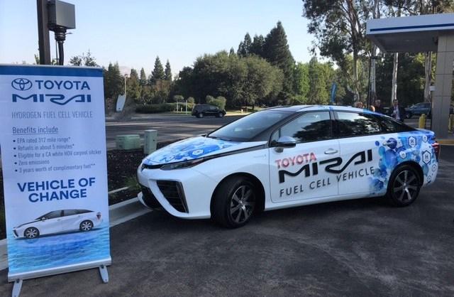 Toyota Mirai hydrogen station