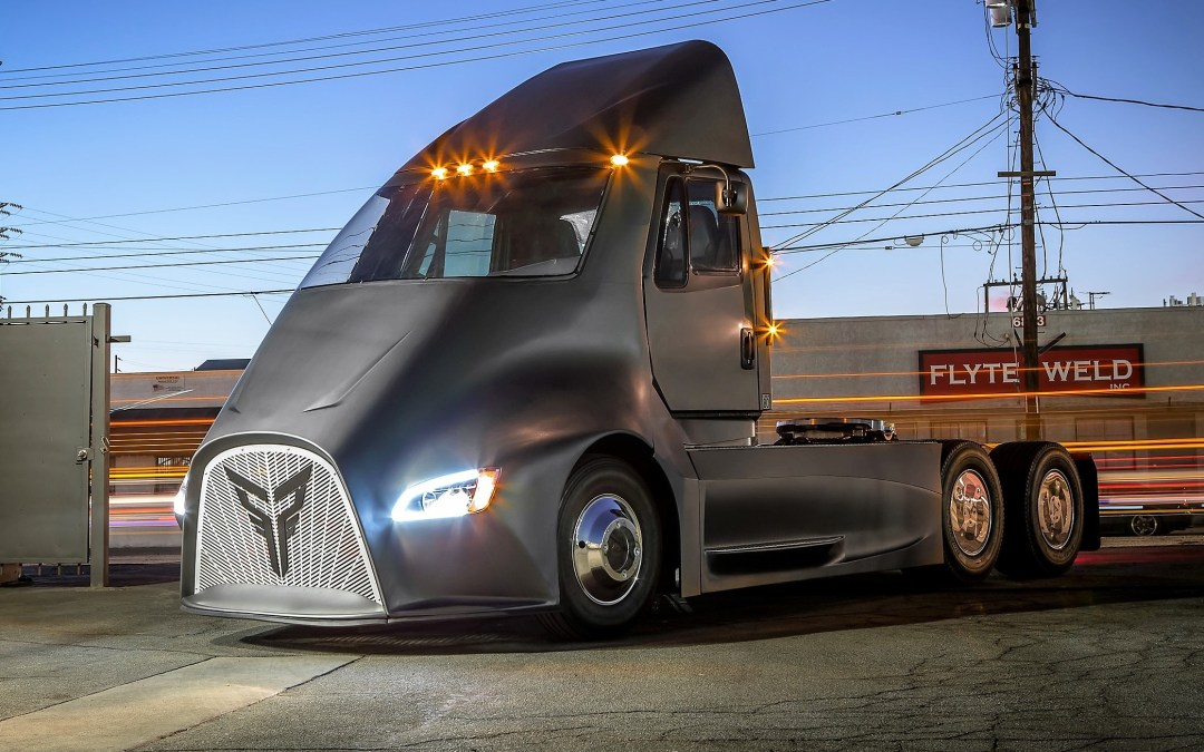 News: Thor Electric Semi To Challenge Tesla's Battery Truck