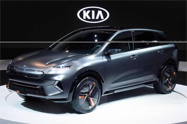 News: Kia Niro EV Showcased At 2018 CES