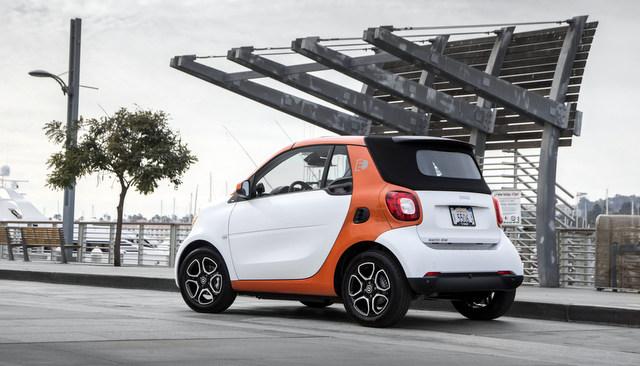 2018 Smart Fortwo ED Cabrio