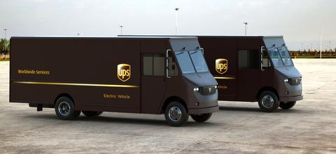 UPS Electric Trucks