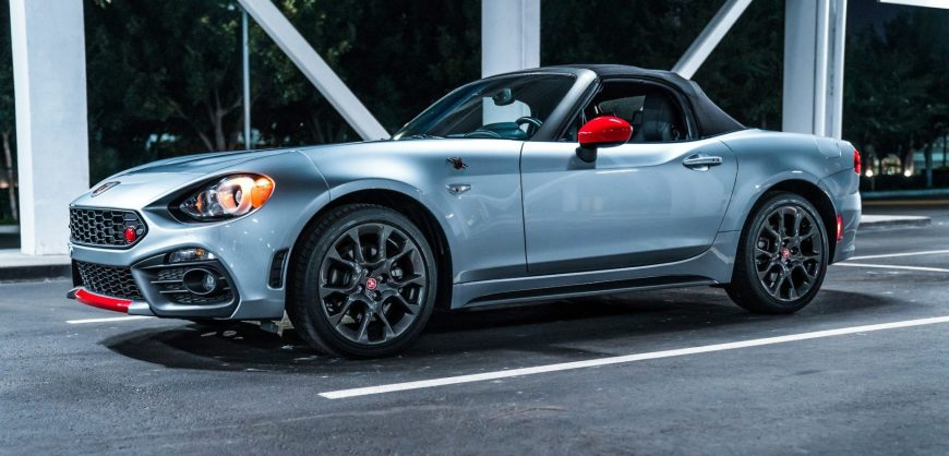 Road Test 2019 Fiat 124 Spider Abarth Clean Fleet Report
