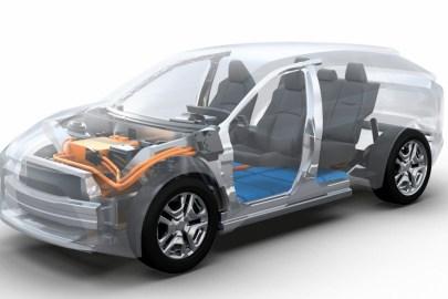 Toyota-Subaru EV