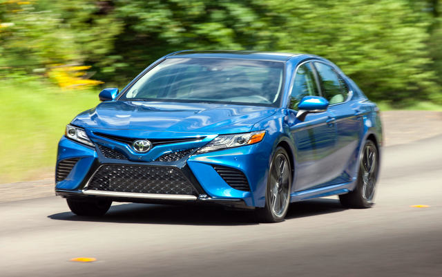 Road Test 2019 Toyota Camry XSE