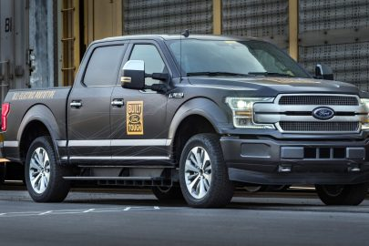 Ford F-150 EV Prototype