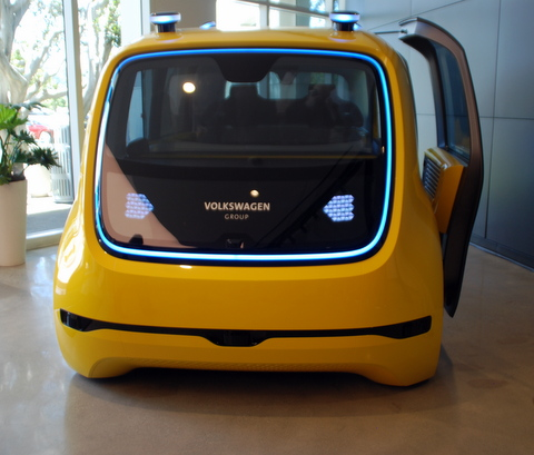 Volkswagen's Silicon Valley Lab, the Innovation & Engineering Center Califronia