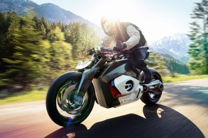BMW Vision DC Roadster Electric Motorcycle