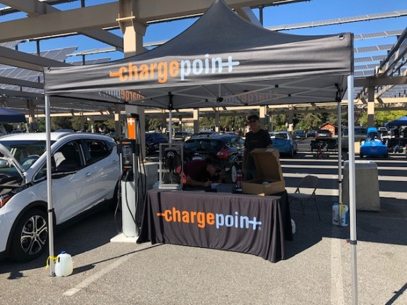 National Drive Electric Week (NDEW), ChargePoint