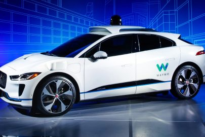Jaguar I-Pace Waymo autonomous vehicle